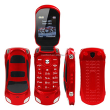Car Shaped 1.77 Inch NEWMIND F15 Flip Dual SIM China Mobile Phone