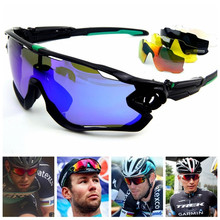 Hot Sale Unisex 5 Pair Lens Polarized UV 400 Cycling Sunglasses Bicycle Glasses Tour De France Eyewear Sports Cycling Eyewear