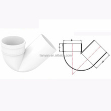 Factory price Manufacturer good quality drainage PVC UPVC plastic Rubber Joint fitting flexible single socket p trap sizes