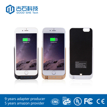 NEW 5000mAh For iPhone 6 6s External Portable Battery Backup Charging Bank Power Case For iPhone6 6s bulk and wholesale