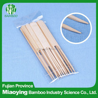Hot Sale Double Prong Bamboo BBQ Skewer
