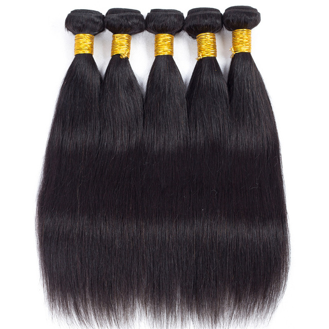 SISSI hair first class remy 8a straight virgin peruvian hair outre human hair