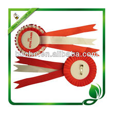 double layer badge award rosette for promotion