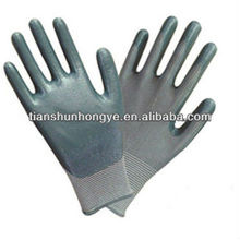 Gray Nitrile Palm Gloves with Smooth Surface Finish top king gloves