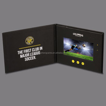 Customized 2.4''4.3''2.8''5''7''10''digital video greeting card/advertising video brochure
