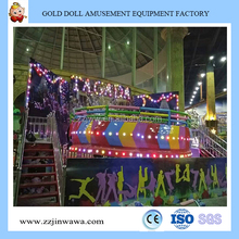 Good Quality Outdoor Playground Equipment Attracion Amusement Mini Flying Disco Tagada