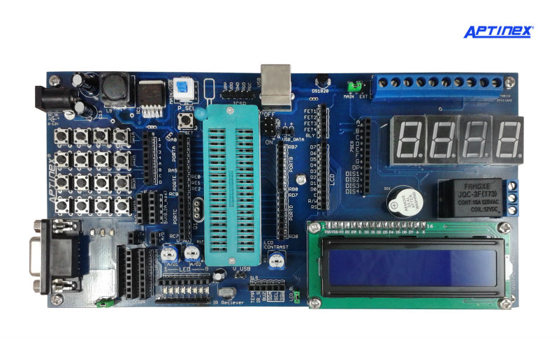 Aptinex Advanced PIC Development Board Rev.5
