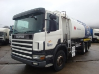 2000 Scania P94D-260 6x4 Tanker Truck RHD Right Hand Drive