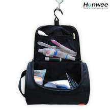 Custom functional men canvas travel toiletry bag for cosmetics