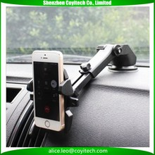 Car Phone Holder Suction Windshield Mount Stand 360 Adjustable Phone Holder For iPhone Samsung GPS Suporte Movil Car