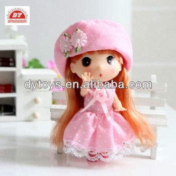 ICTI toy manufacturer custom made decoration small lovely dolls toys