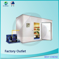 high quality building cold storage room for meat and fish