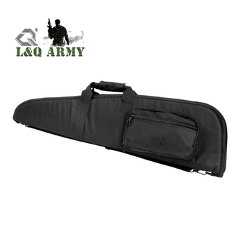 42 inch PVC Padded Tactical Rifle Gun Case Bag Black