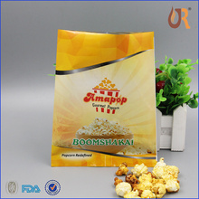 Top quality paper microwave popcorn bag eco-friendly food paper bag