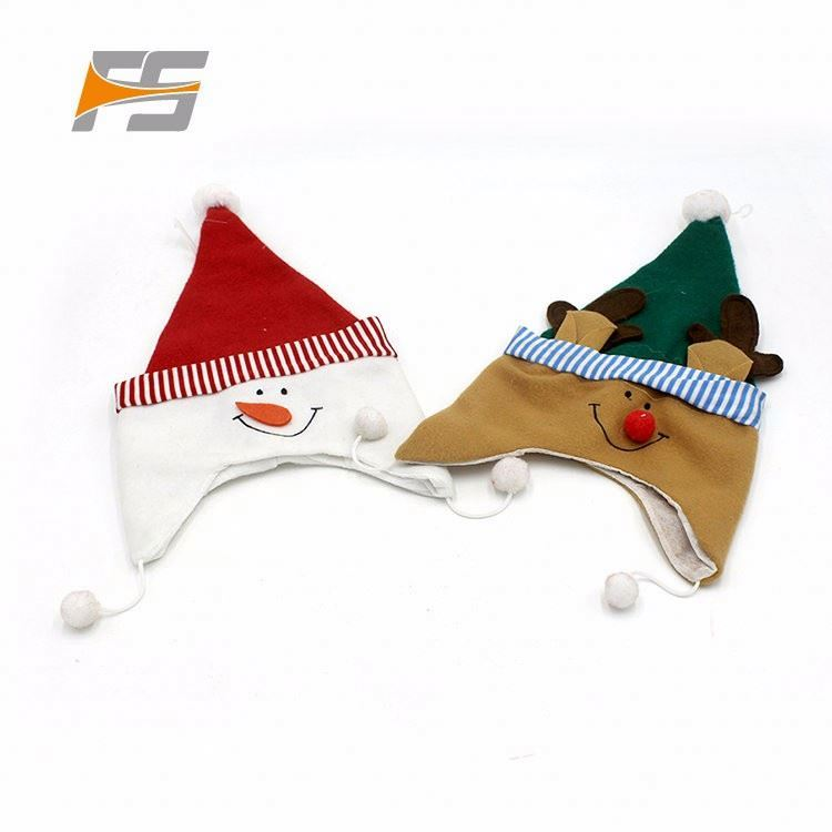 Eco-Friendly Fashionable Cheap Christmas Flipeez Hat