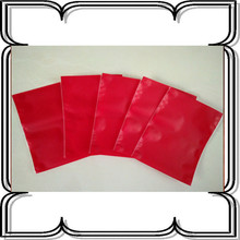 Red festival Napkin tissue box covers Matte film complex CPP bag