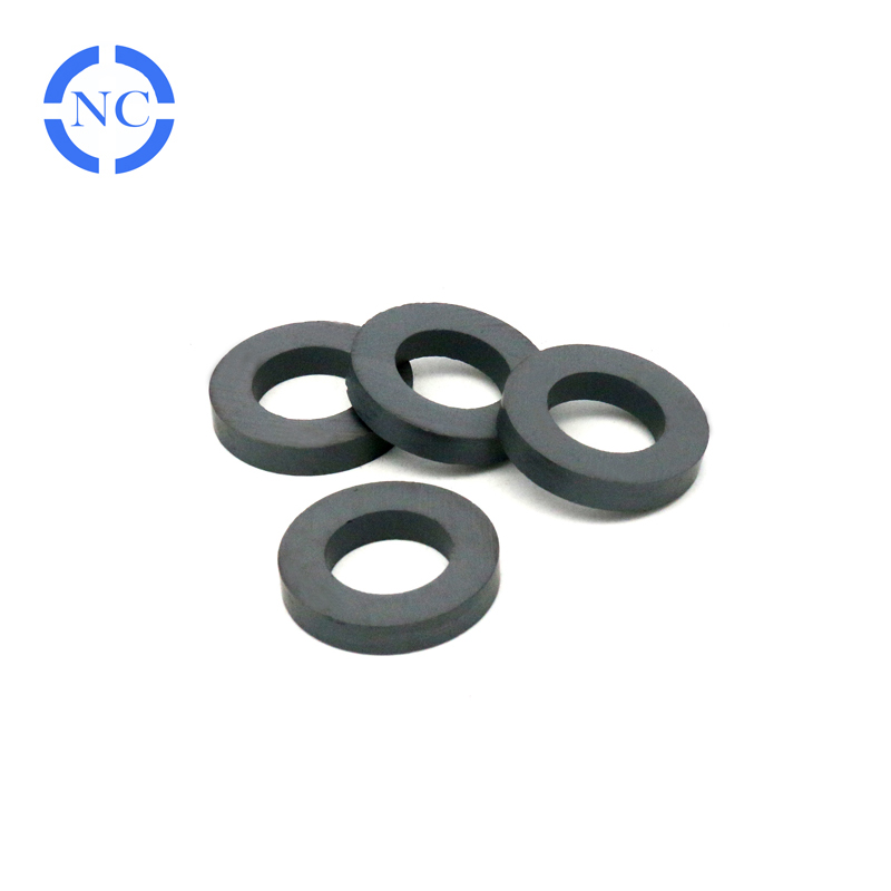 China factory made cheap botton ceramic permanent pot ferrite magnet
