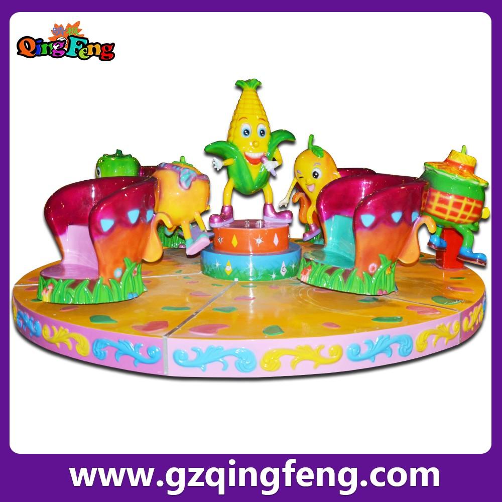 Qingfeng 6 giocatori carosello di cavalli cavallo for Giostre usate