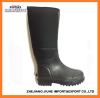 Men's Neoprene Rubber Rain Boots with 100% water proof