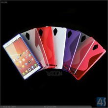 New China factory cheap OEM s line tpu soft gel skin cover case for lenovo k80 k80m