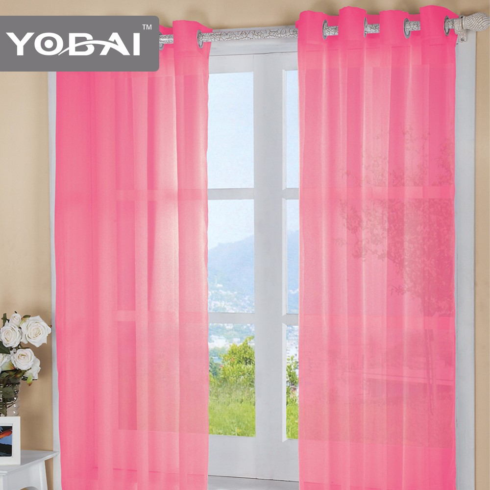 New Design Polyester Decoration Window From China Usa Curtain