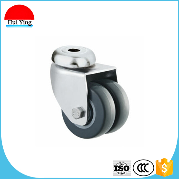 Leveling caster luggage caster wheel