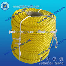 Top quality newly design 3 strands pp sea farming rope