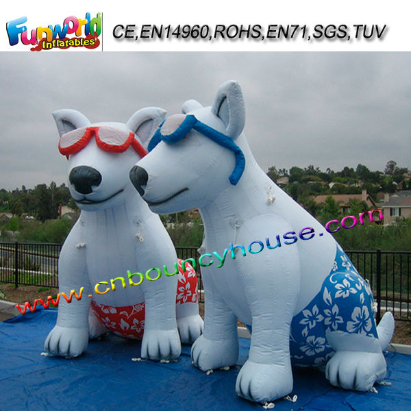 Cool Dogs Inflatable Model Advertising Inflatable Characters