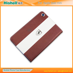 PU leather case Manufacturer for ipad mini