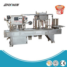 High Quality Auto Yogurt Cup Packaging Machine /Cup Sealing Machine