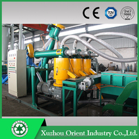 Top quality stable running flat die machine line to make wood pellets