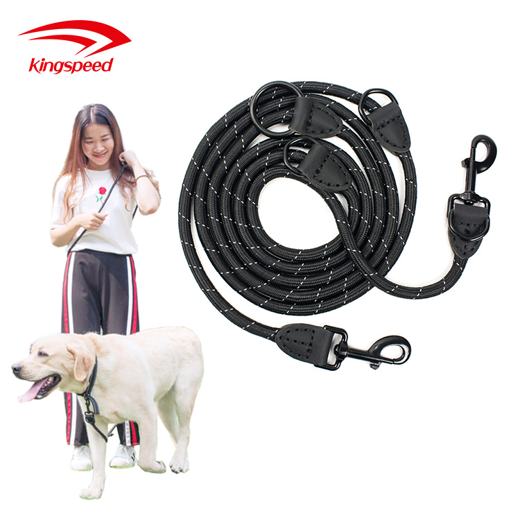 Amazon Best selling Mountain Climbing Reflective Durable Rope Dog Leash