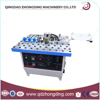 wooworking Manual paper banding machine SMF-515B with CE