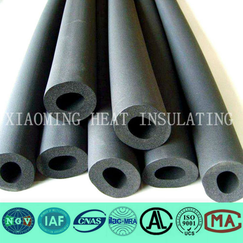 thermal rubber foam insulation hose/tube for air conditioning duct