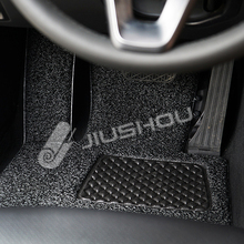 Hot sale 6d car rubber floor foot mat fasteners for car parking for outdoor