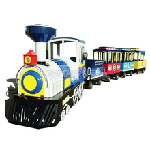 Trackless Electric Small Amusement Park Trains For Sale