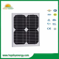 25w 17.5V 1.43A OEM/ODM mono grade A wholesale prices of solar panel made in China