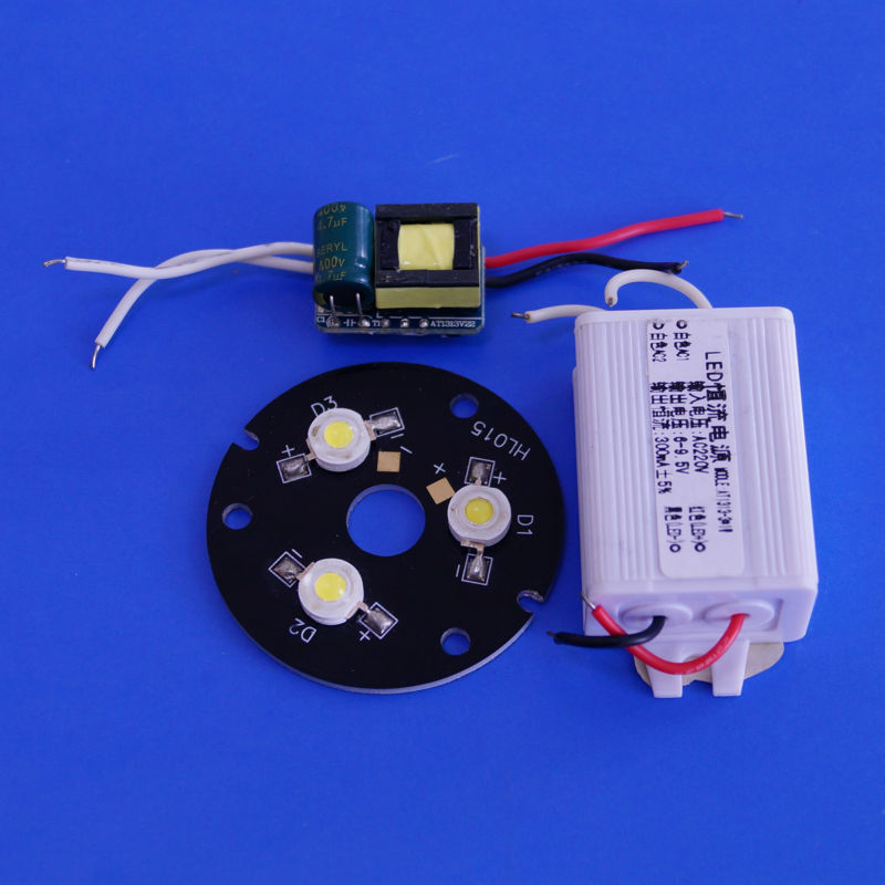 3W Led Spotlight Constant Current 3x1w Led Driver