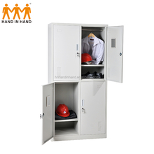 Luoyang cheap iron wardrobe design metal steel locker shelf sports lockers
