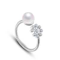 2015 New Arrival Pearl Ring With