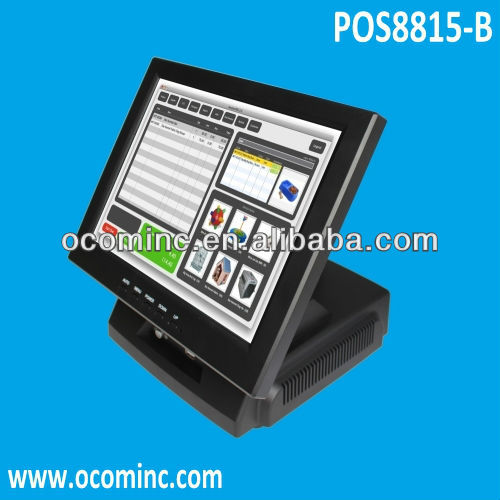 POS8815-B --- 15 Inch All-in-One Touch Screen POS System Computer POS Equipment