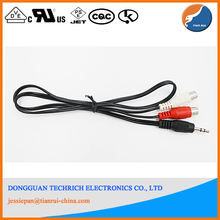 HDTV 1080P Cable to 3RCA Male Audio Video Component Convert Cable
