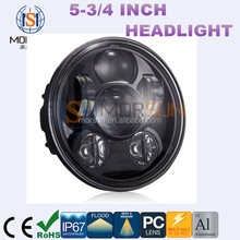 "Factory wholesale 5.75 inch headlight, 5.75"" headlight led for jeep wrangler harley"