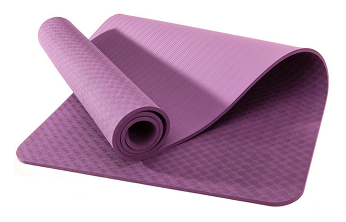 Custom Patterns TPE 8mm thickness yoga mat