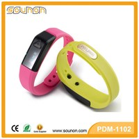 Unisex USB Charger Bluetooth Fitness Bracelet Tracker Smart Wristband Pedometer Watch