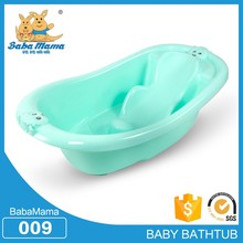 China PP Plastic baby portable small corner tub shower