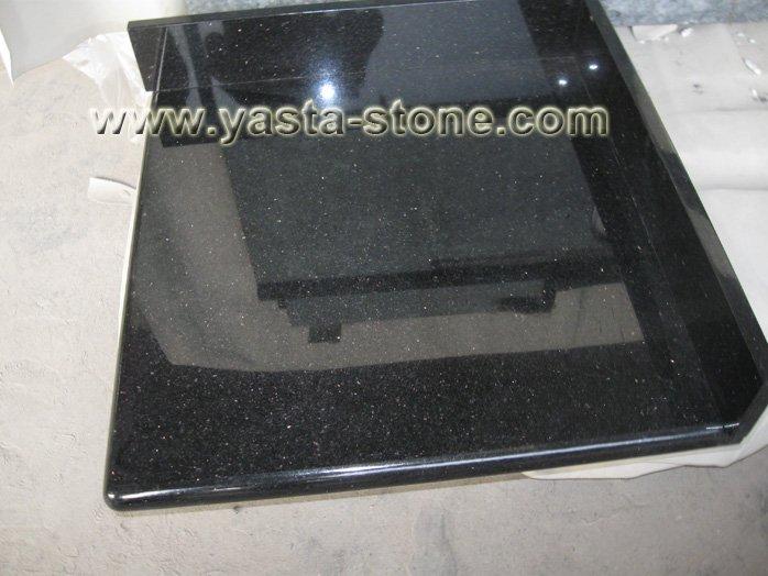 g nstigen preis laminiert schwarz galaxie granit k chenarbeitsplatte tischplatte badschrank. Black Bedroom Furniture Sets. Home Design Ideas