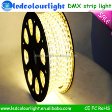 New Product Addressable RGB LED Strip, CE led flexible strip light 220v for Home Decoration