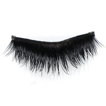 hot-selling invisible band eyelashes 3D mink eyelashes private label custom eyelash OEM