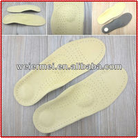 Genuine Leather Orthotic Shoe Insoles